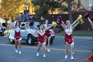DU Homecoming Parade