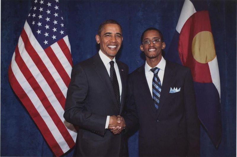 Dia and Obama