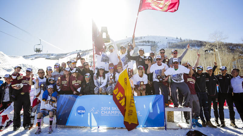 Skiing champions 2014