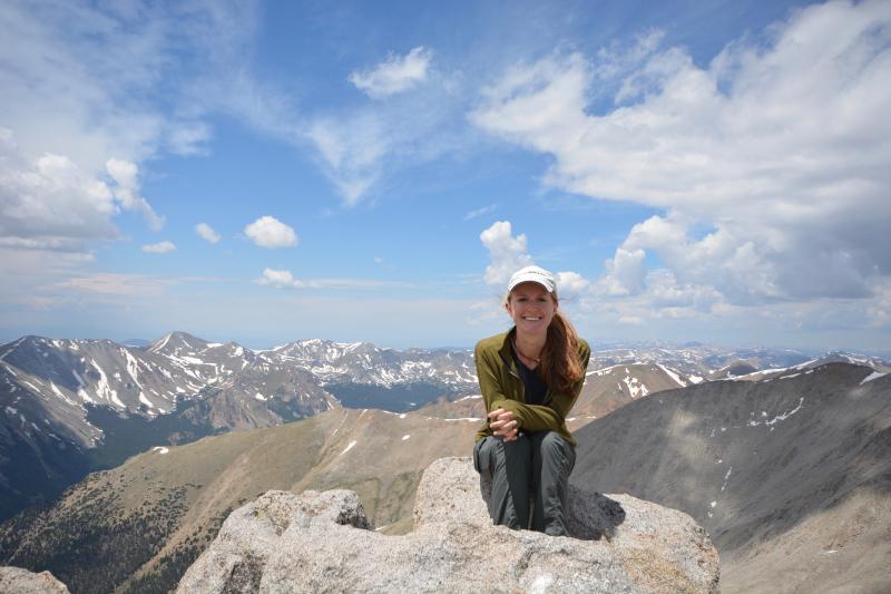 Summit of Mt Shavano